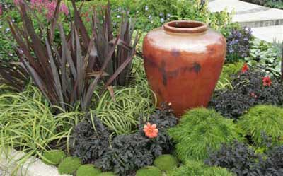 pot and planting